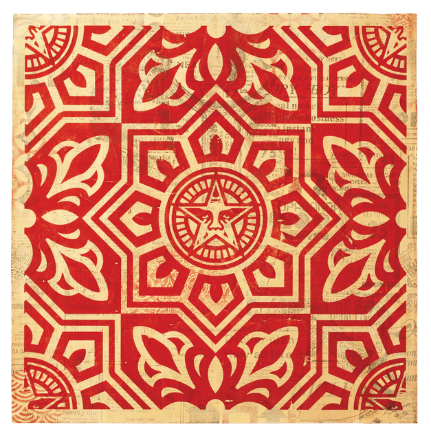 , 'Venice Pattern Red HPM,' 2009, Galerie Matthew Namour