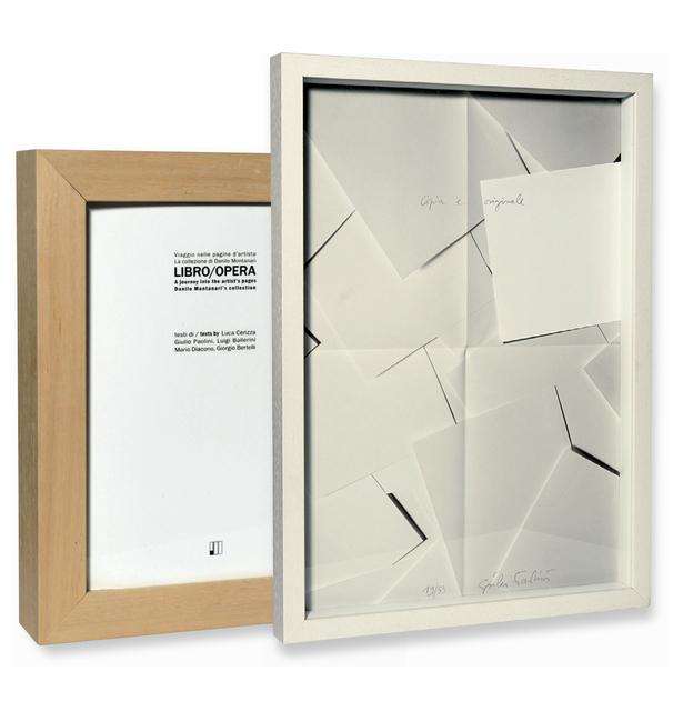, 'Copia e originale.,' settembre 2011, Danilo Montanari Editore