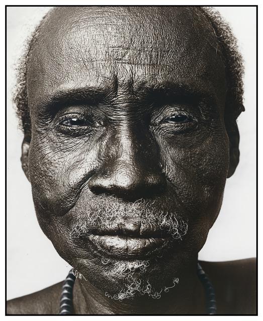 , 'Dobo (61),Karo Tribe, Ethiopia,' 2010, Bernheimer Fine Art