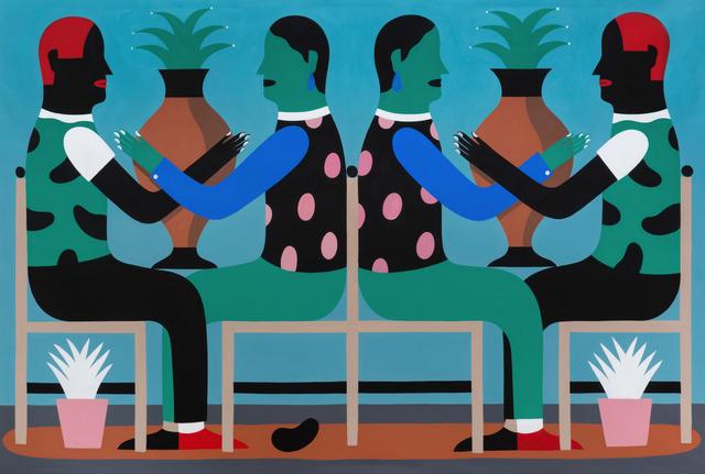, 'Frieze n°2,' 2018, M77 Gallery
