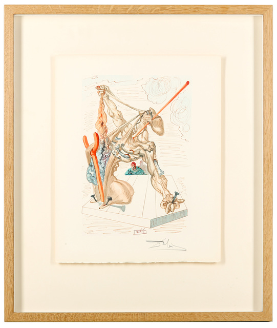 Salvador Dalí, 'Mohammed (Inferno No.29)', 1960, Print, Coloured Etching, Chiswick Auctions