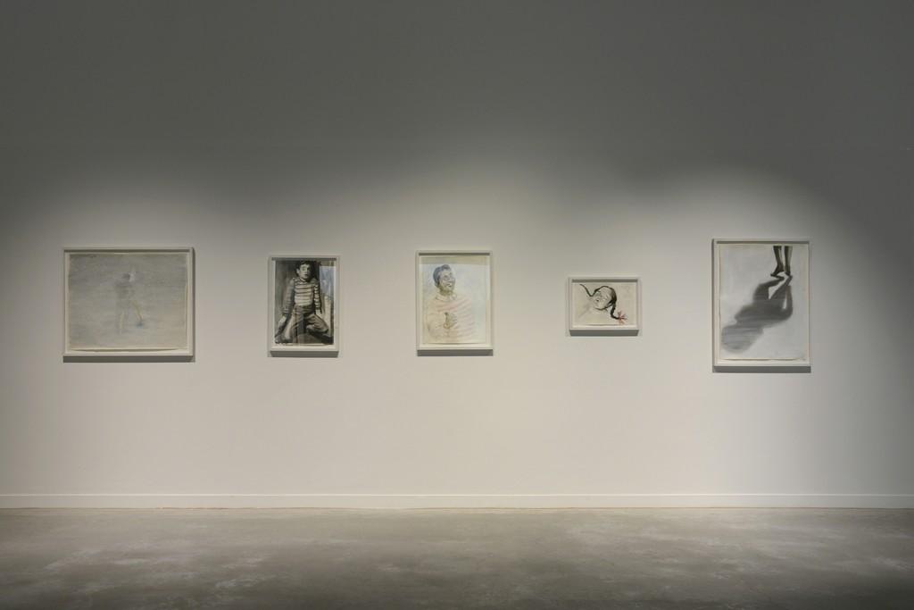 David Claerbout. Selectie van tekeningen uit de CERA-collectie in M (c) Isabelle Arthuis