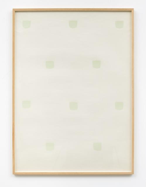 Niele Toroni, 'Miroir d'eau', 1973, Galerie Greta Meert