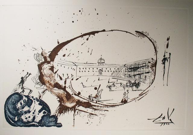 Salvador Dalí, 'Vision de Paradis', 1973, Print, Drypoint engraving in color, DTR Modern Galleries
