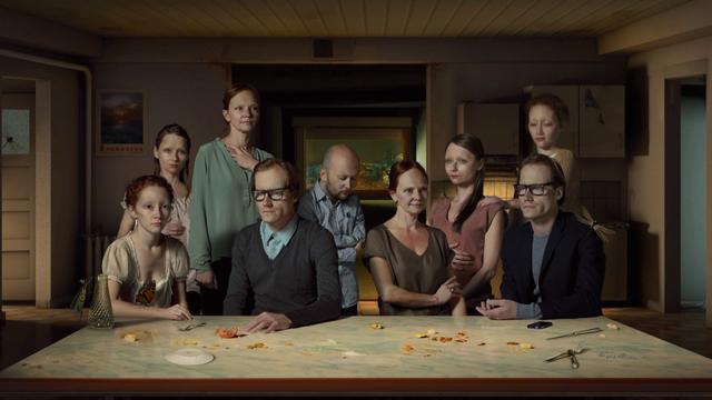 Alex Verhaest, 'The Dinner', 2013, Mixed Media, Animation loop, Barakat Contemporary