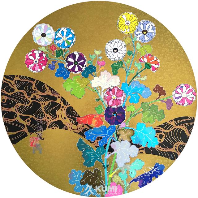 Takashi Murakami, 'Kansei: The Golden Age', 2014, Kumi Contemporary / Verso Contemporary
