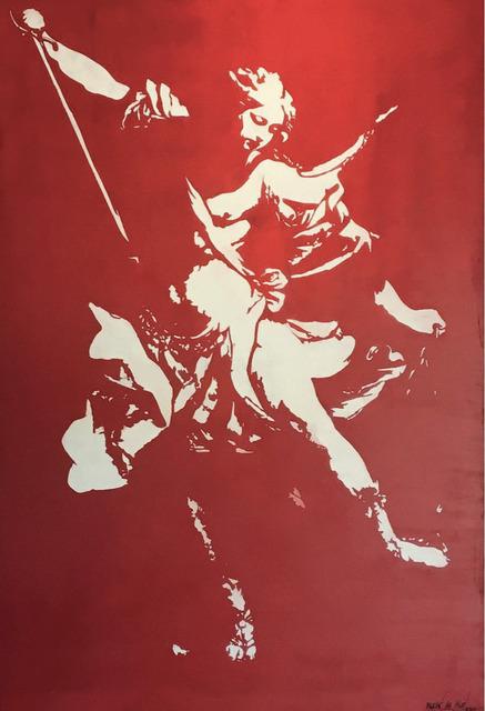 , 'Rhapsody in Rot,' 2016, Galerie Kronsbein
