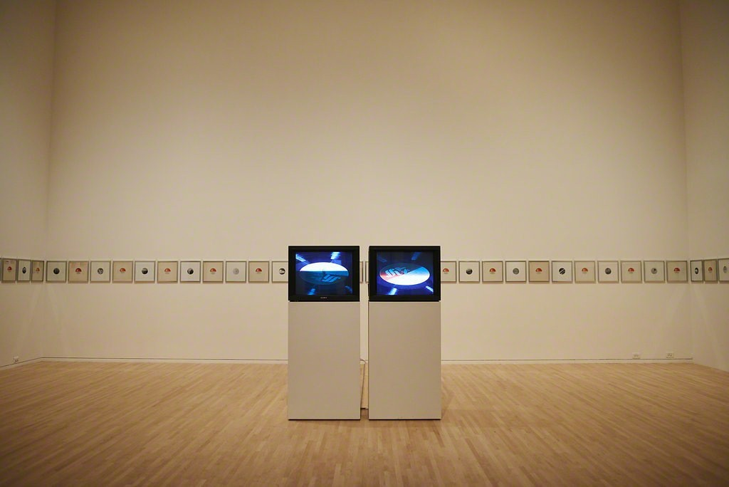 "Installation view of Euan Macdonald's ""The Fields,"" 2007 – 2014.