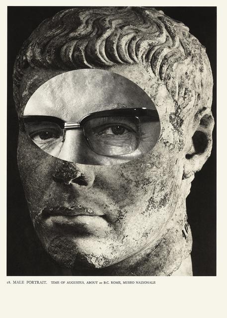 , 'Male Portrait 18 - da série Cavo um fóssil repleto de anzóis,' 1996, Galería Vermelho