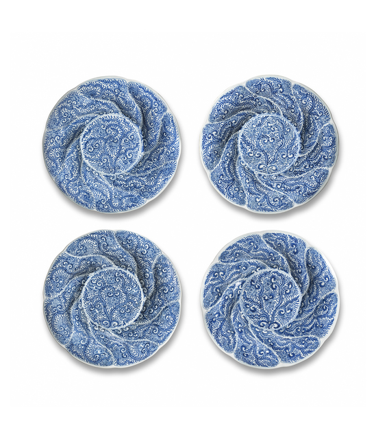 , 'Set of Four Blue and White Dishes,' 1662-1722, Jorge Welsh Works of Art