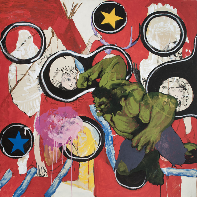 , 'HULK V.S. THE HYDRA,' 2015, Tansey Contemporary