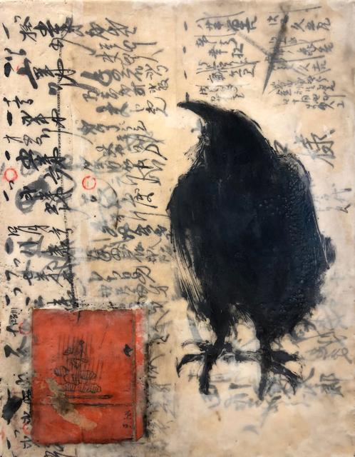 , 'Raven Speaks IV,' , WaterWorks Gallery