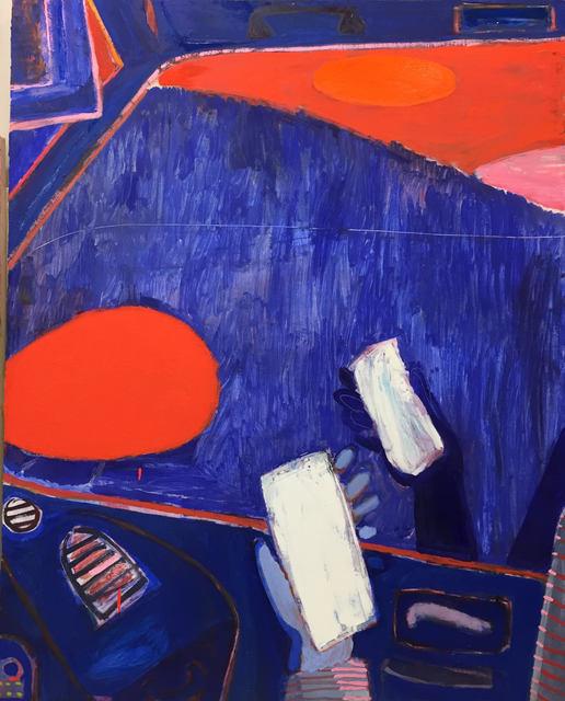 , 'Passenger Window Sunset,' 2018, Page Bond Gallery