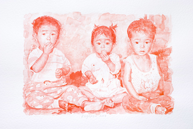 , '«Fear» series. #10.,' 2008, Marina Gisich Gallery