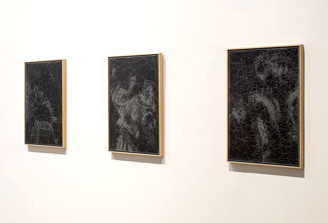Quayola, 'Iconographies #29 : Judith & Holofernes d'après Artemisia Gentileschi', 2015, Print, Engraving, anodized aluminum - framed, Galerie Charlot