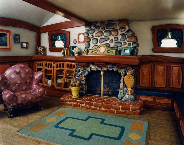 , 'Mickey Mouse's Living Room; Mickey's Toontown, Disneyland, Anaheim, CA ,' 1995, Anglim Gilbert Gallery