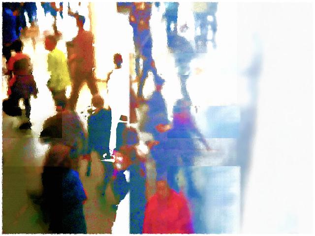 Jane Sklar, 'Crowd', 2018, Photography, Digital Photography, The Galleries at Salmagundi