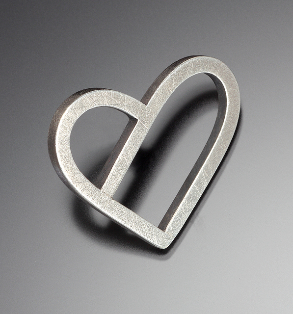 , 'Heart Lapel Pin,' 2016, Facèré Jewelry Art Gallery