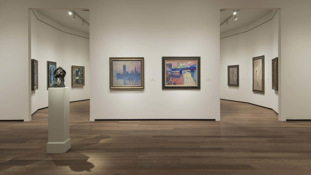 Installation view of Modern Art in East Building, Mezzanine, Tower 1 galleries. Photo by Rob Shelley. Photo Copyright © 2016 Board of Trustees, National Gallery of Art, Washington