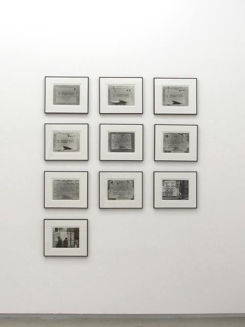 , 'La socializzazione di un opera d'arte,' 1972, Parra & Romero