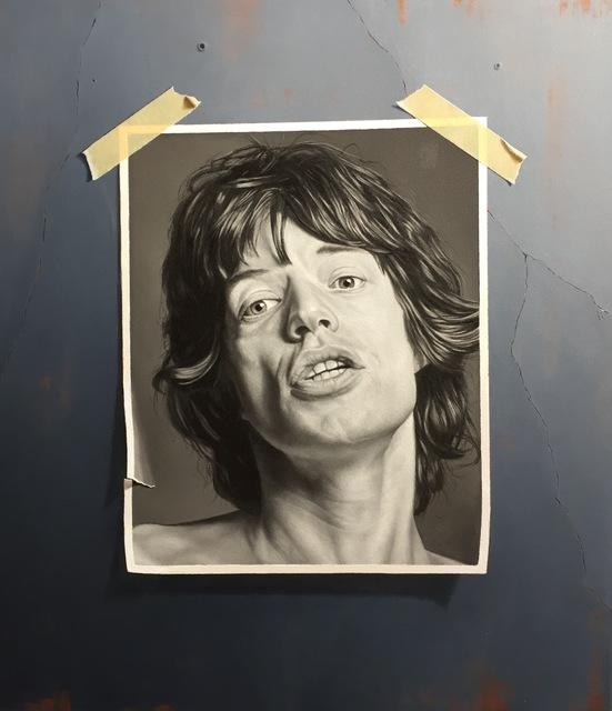 Otto Duecker, 'Mick Jagger', 2014, M.A. Doran Gallery