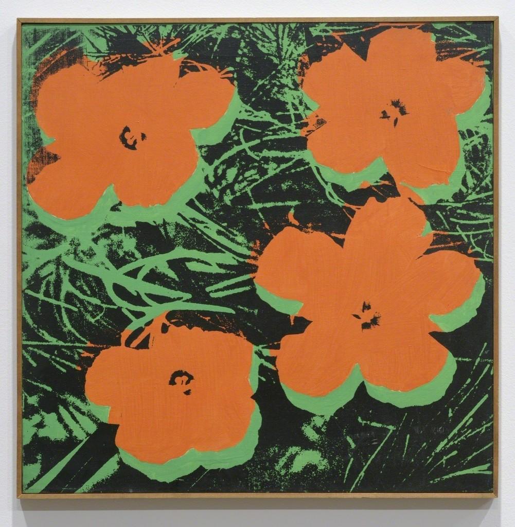 Sturtevant, 'Warhol Flowers,' 1965, Galerie Thaddaeus Ropac