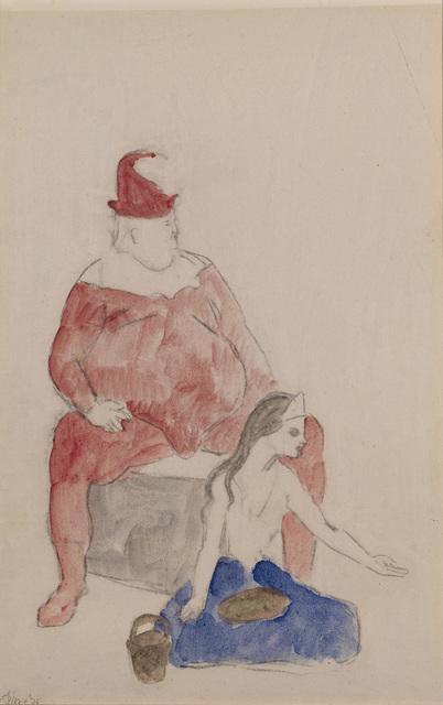 , 'Saltimbanque et jeune fille,' 1905, Opera Gallery