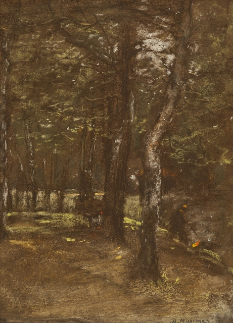 Henry Muhrman, 'Park Shadows', ca. 1900, Private Collection, NY