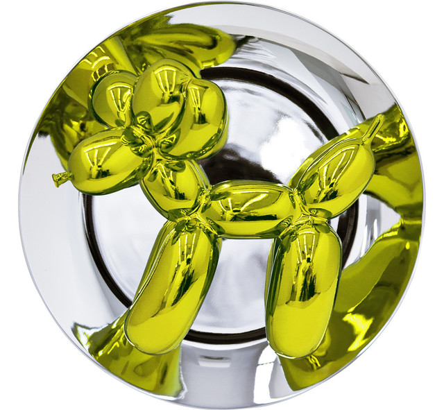 , 'Balloon Dog Plate (Yellow),' 2015, SPONDER GALLERY