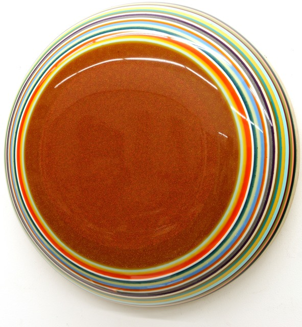 , 'Diskos Orange,' 2013, JanKossen Contemporary
