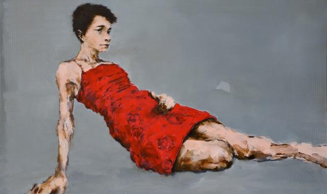 Gabriel Schmitz, 'Siren', 2019, Painting, Oil on canvas, GALLERI RAMFJORD