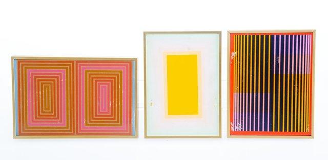 Richard Anuszkiewicz, 'Untitled (three works)', Heritage Auctions