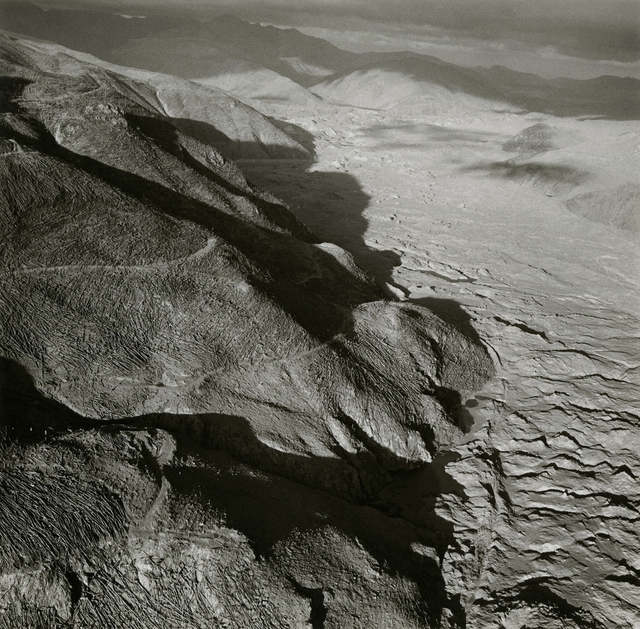 Emmet Gowin, 'Toutle River Valley, Mount St. Helens, July 1980', 1980, Photography, Gelatin silver print, Etherton Gallery