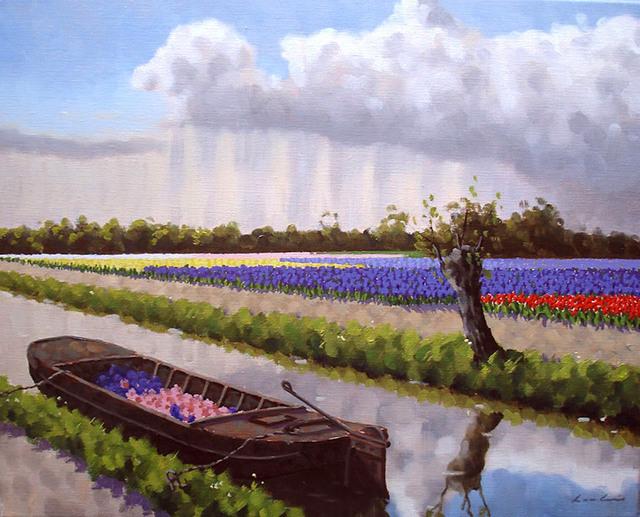 , 'Barge at Voorhout,' ca. 2017, ArtBoutique