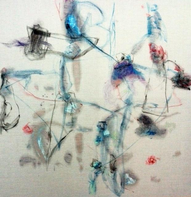 , 'Sudoración azul infuturo II,' 2014, Miguel Marcos