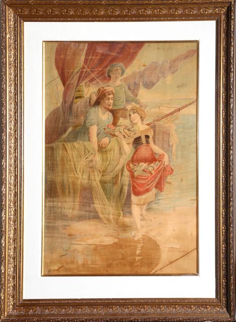 Alphonse Mucha, 'Peche', ca. 1908, RoGallery