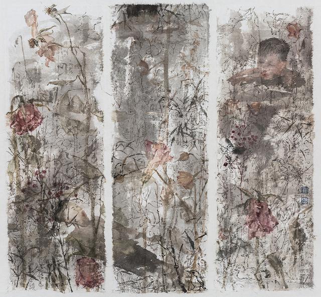 , 'Poesía de flores de otoño No. 19,' 2017, Miguel Marcos