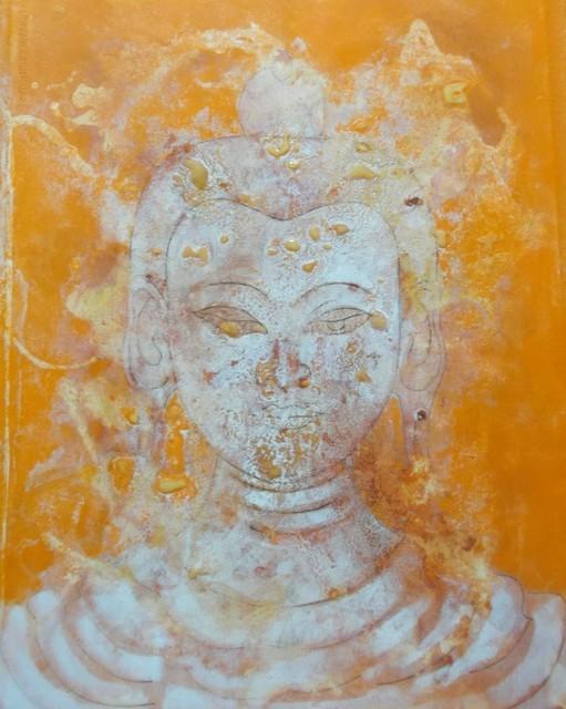 , 'Saffron Buddha,' 2013, White Court Art