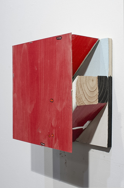 , 'RED CHIMERA TABLETOP,' 2015, Traver Gallery