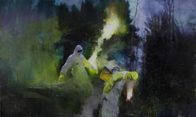 , 'Zona,' 2016, Parafin