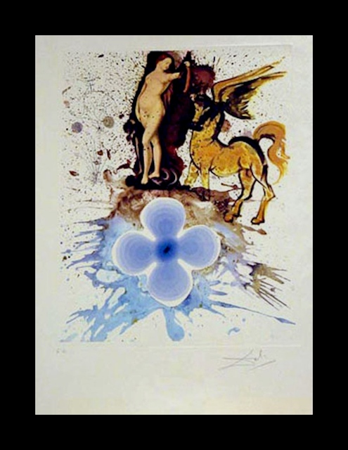 Salvador Dalí, 'Hommage a Cranach', 1971, Print, Etching, Fine Art Acquisitions Dali