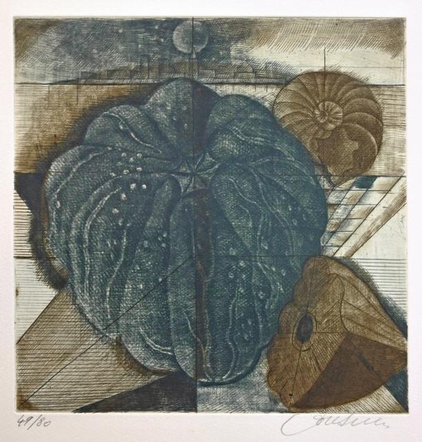 Brigitte Coudrain, 'Lunaisons', 1994, Hans den Hollander Prints