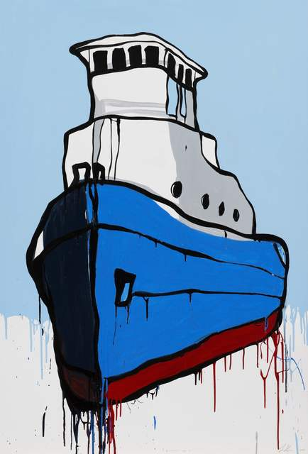 , 'Boatsales.com.au,' 2014, Chalk Horse