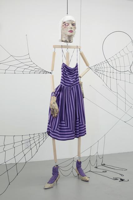 , 'Spider Woman Purple Dress,' 2015, Whitney Museum of American Art