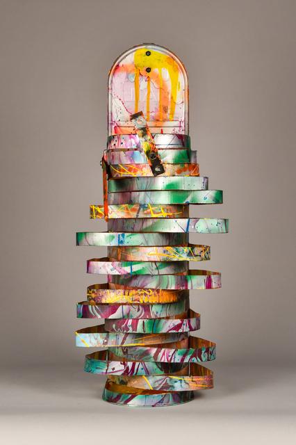 , 'Sliced Aluminum,' 1992, Debra Force Fine Art