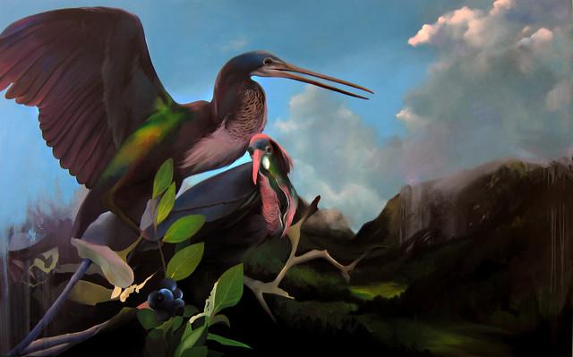 , 'Belizean Herons,' 2015, Victor Lope Arte Contemporaneo