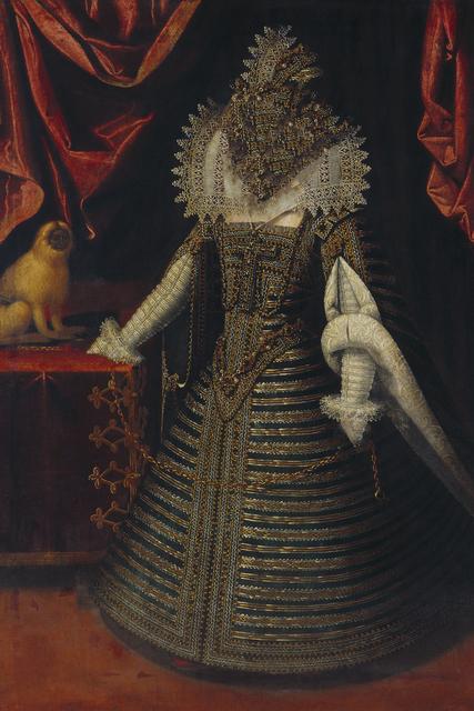 , 'Caput # 11 / 3421, based on: INFANTIN ANNA (1601–1666) by Juan Pantoja de la Cruz, 1604,' 2018, Galerie Reinthaler