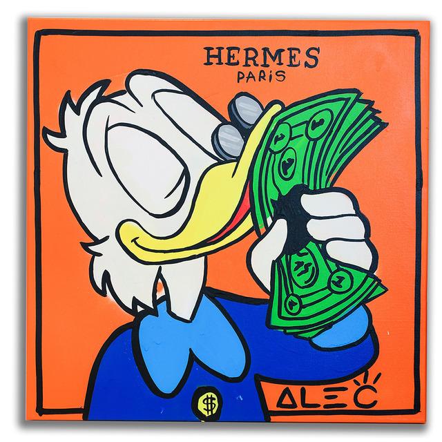 Alec Monopoly, 'Hermes Scrooge Portrait ', 2019, Eden Fine Art