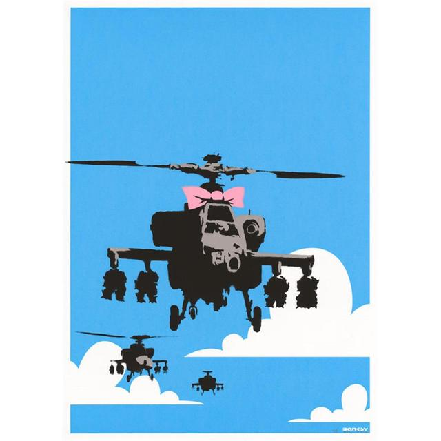 Banksy, 'Happy Choppers', 2003, Maddox Gallery