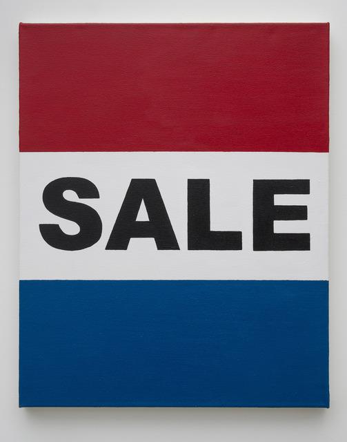 , 'Democracy (Sale),' 2017, Edward Cella Art and Architecture
